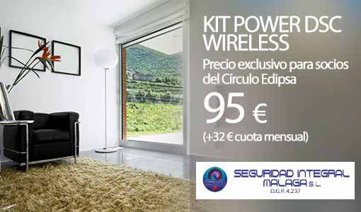 Sistema de seguridad Kit Power DSC