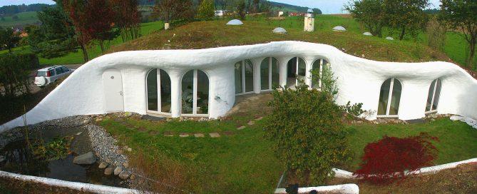Casa-cueva en Suiza