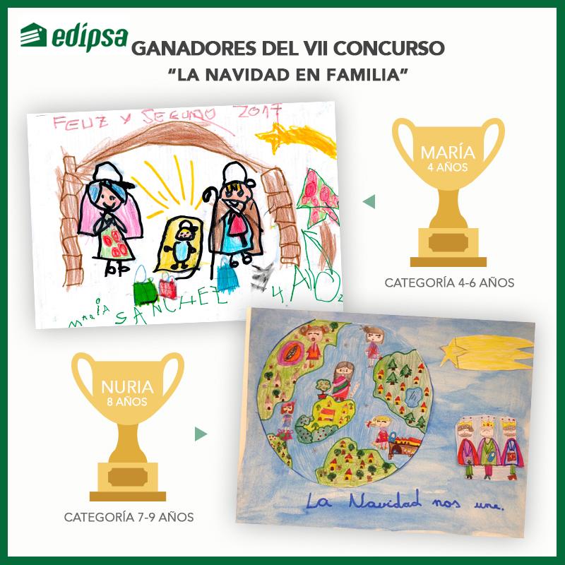 Dibujos De Navidad Creativos.Ganadores Del Vii Concurso De Dibujo Infantil La Navidad En