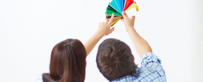 Combinacion de colores en el hogar