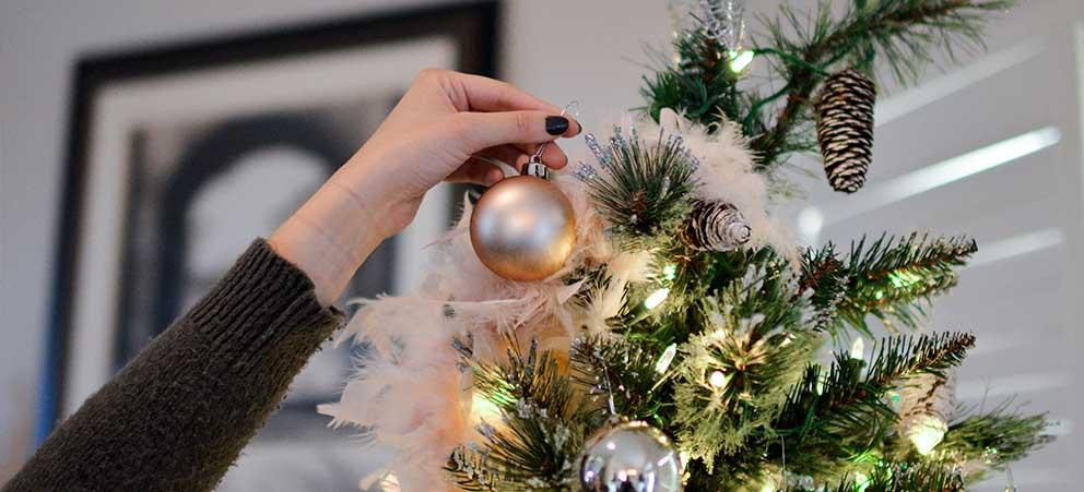 accidentes en el hogar durante Navidad