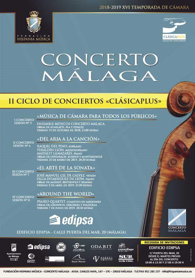 II Ciclo de conciertos Clásicaplus 'Del Aria a la Canción'