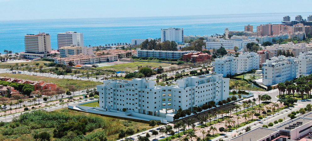Despega la promoción de viviendas en Málaga