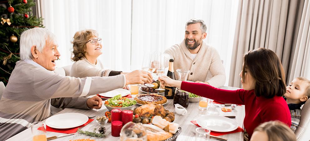 Celebre estas Fiestas en su hogar, lúzcase como anfitrión